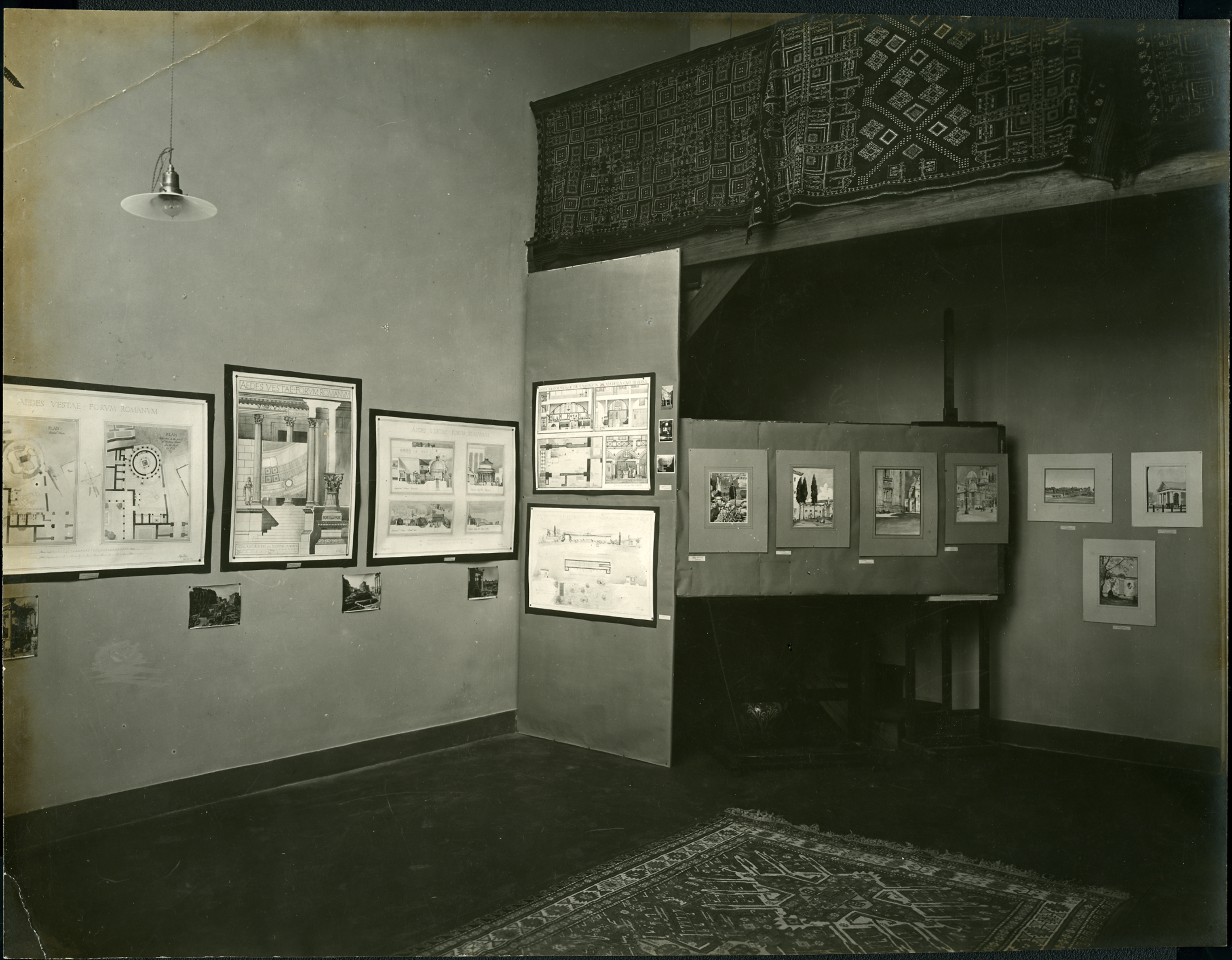 Architecture Exhibition at the BSR c.1920s, BSR Fine Arts Archive
