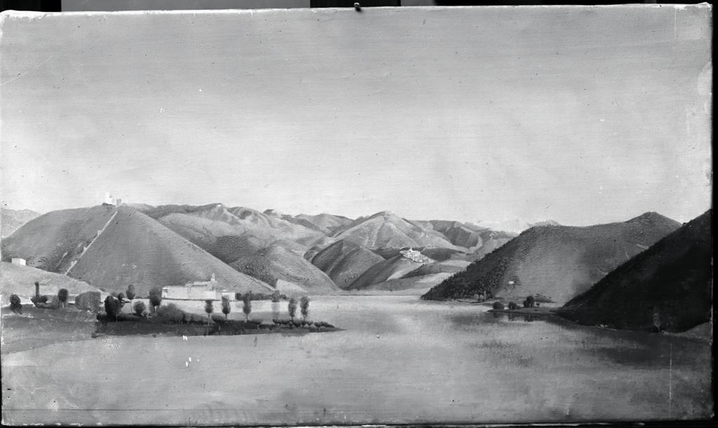 Photograph of Thomas Monnington's Piediluco (c.1924), BSR Fine Arts Archive
