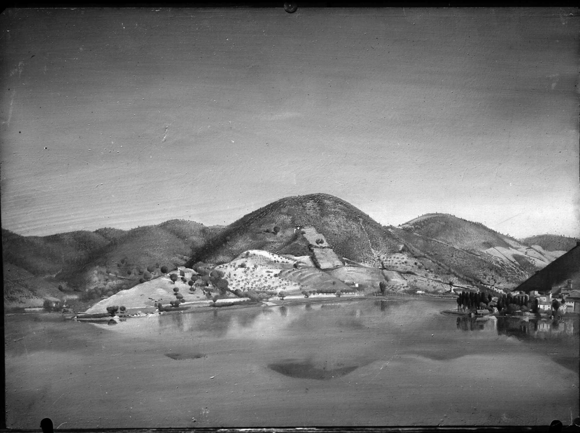 Photograph of Piediluco by Tom Monnington, (c. 1925). BSR Fine Arts Archive