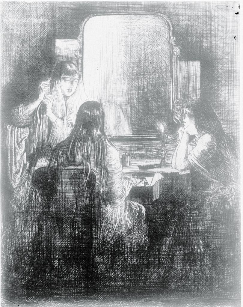 Lilian Whitehead, photo of artwork, 1921 (BSR Fine Arts Archive)